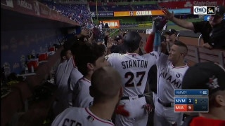 WATCH: Giancarlo Stanton's 55th home run of the season