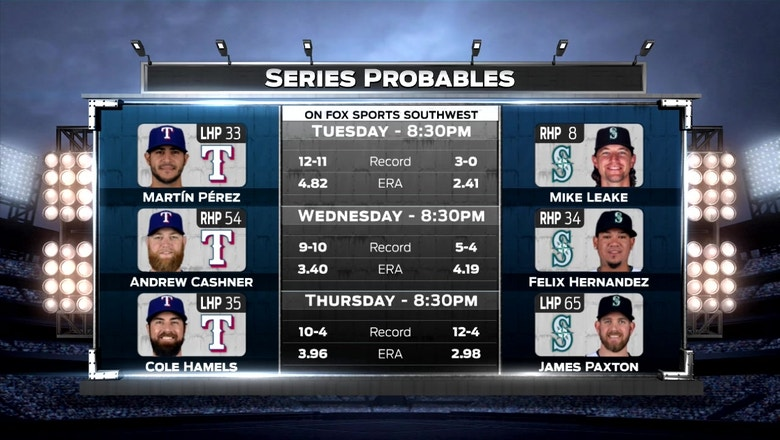 Series Preview with Oakland Athletics | Rangers Live