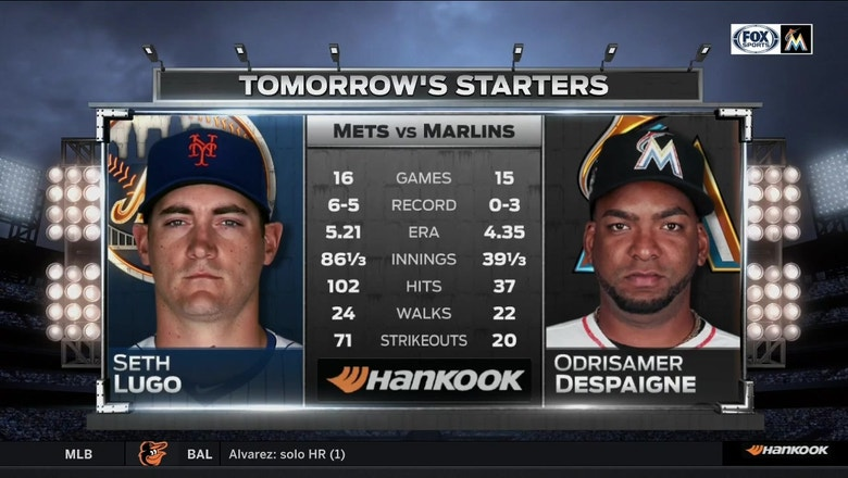 Odrisamer Despaigne looking for 1st win in game 2 of Marlins vs. Mets
