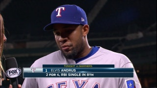 Elvis Andrus plays add on in 8th in 3-1 win over Seattle