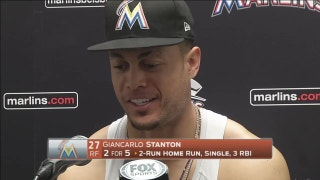 Giancarlo Stanton on 56th HR: That one had a motor on it