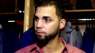 Alex Claudio on another effective 9th inning in 8-6 win