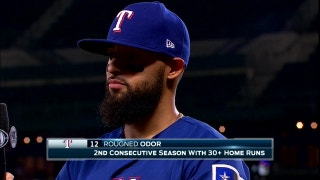 Rougned Odor hits Grand Slam, Rangers win 8-6