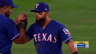 Rangers win behind Rougned Odor's big grand slam in 4th