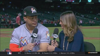 Giancarlo Stanton on breaking Marlins' single-season RBI record
