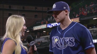 Brad Miller says Rays did a good job of adding on Saturday night