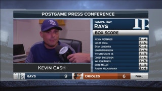 Kevin Cash: We needed all those runs tonight