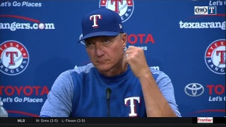 Jeff Banister on that 4th inning in loss to Astros