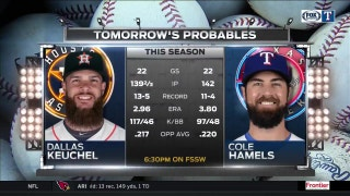 Tuesday Pitching Matchup | Rangers Live