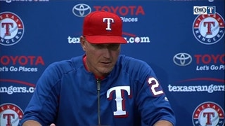 Jeff Banister talks 4-1 loss against Oakland