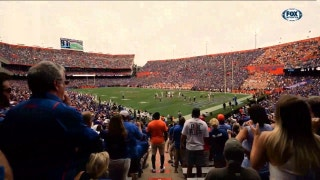 Jim McElwain believes home crowd played part in Gators win