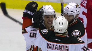 Ducks players discuss chemistry on offense
