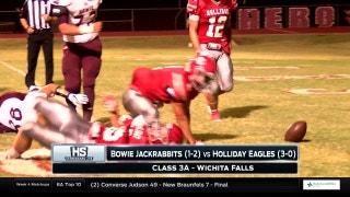 Bowie vs. Holliday   High School Scoreboard Live
