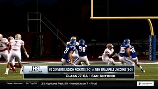 Converse Judson vs. New Braunfels | High School Scoreboard Live