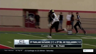 El Paso Parkland vs. El Paso Bel Air | High School Scoreboard Live