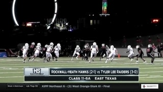 Rockwall-Heath vs. Tyler Lee |  High School Scoreboard Live