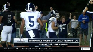 Smithson Valley vs. Cibolo Steele | High School Scoreboard Live