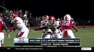 Waco vs. Hewitt Midway | High School Scoreboard Live