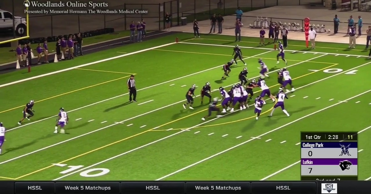Lufkin Vs College Park High School Scoreboard Live Fox Sports