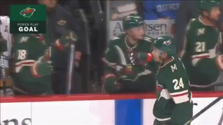 WATCH: Granlund, Dumba power-play goals help Wild top Avs