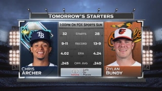 Chris Archer, Rays try to keep playoff hopes alive in finale vs. Orioles