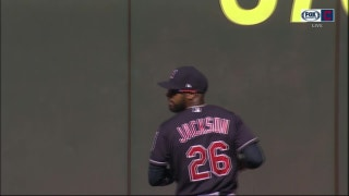 WATCH: Austin Jackson tracks down gap shot, starts 7-6-3 double play