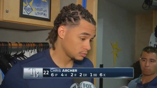 Chris Archer says he didn't do enough to get the Rays a win