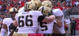 Army's Darnell Woolfolk strikes back to narrow Ohio State's lead to 14-7