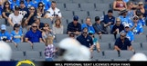 Are personal seat licenses pushing the diehard NFL fans away from attending games?