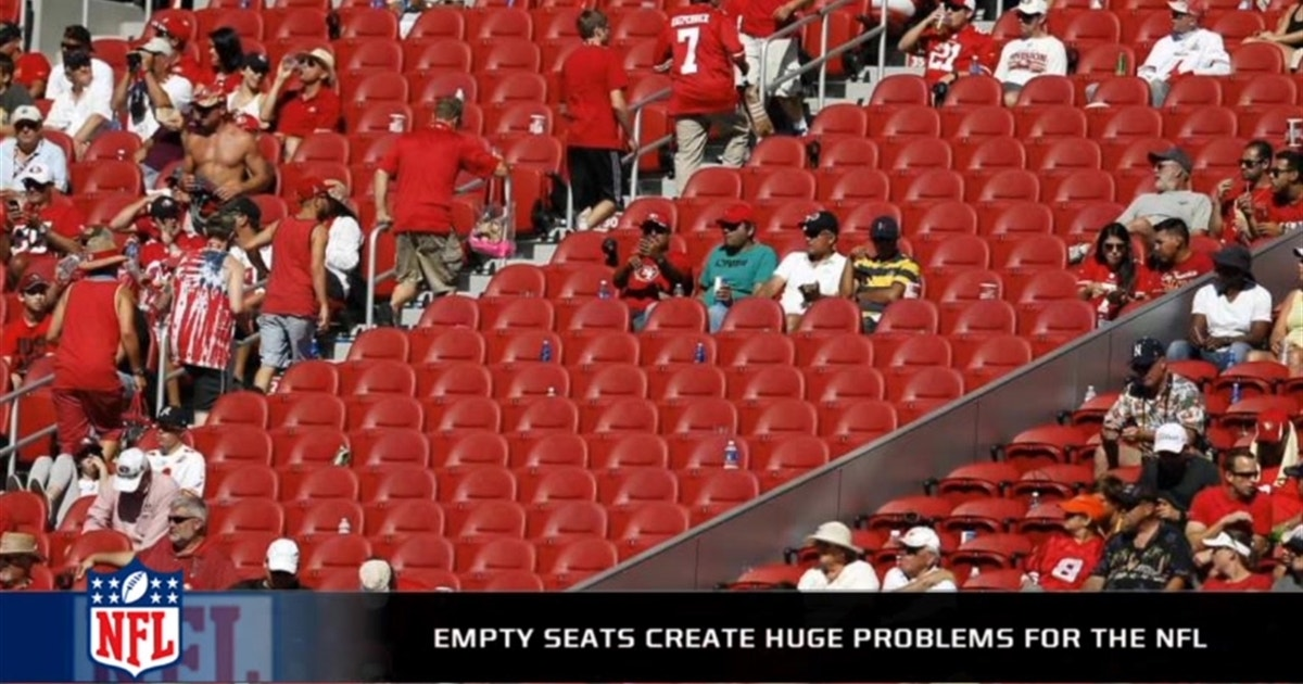 Are The Empty Seats At Games In Week 1 A Concern For The
