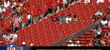 Are the empty seats at games in Week 1 a concern for the NFL?