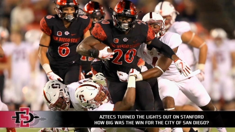 Aztecs come up clutch in upset win over Stanford