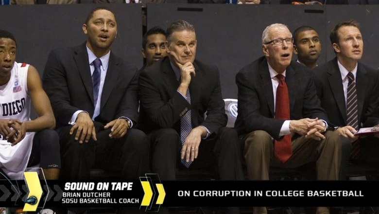 Dutcher addresses corruption in college hoops