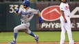 Dodgers' Chris Taylor leads off game with inside-the-park home run