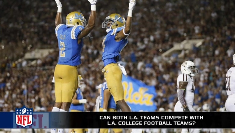 Can The Rams And Chargers Compete With Ucla And Usc In La Fox Sports