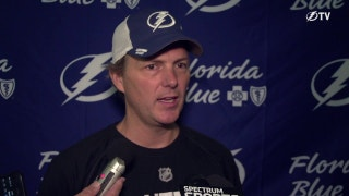Jon Cooper looking forward to Lightning's first preseason game