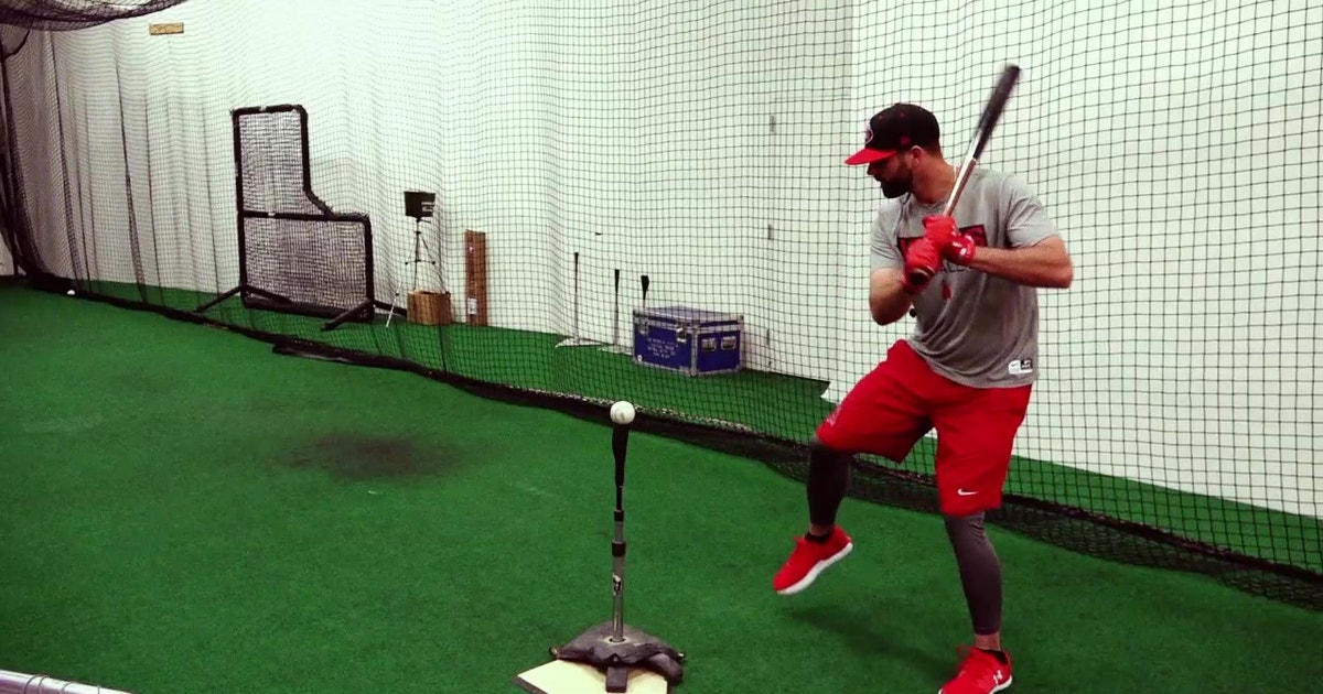 Angels Weekly Hitting Lesson With Dave Hansen Pt 1 Fox Sports