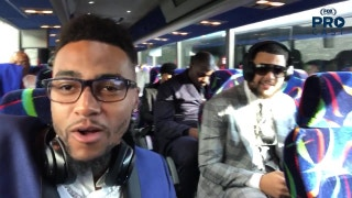 DeSean Jackson and Mike Evans On The Bus
