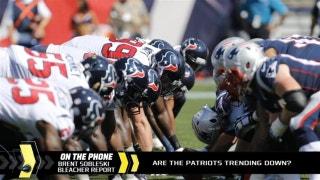 Despite 2-1 record, are the Patriots trending down?