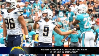 Do the Chargers need a new kicker already?
