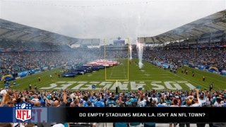 Do empty seats in LA mean it simply isn't an NFL town?