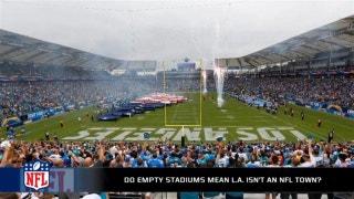 Do empty seats in LA mean it simply isn't an NFL town?