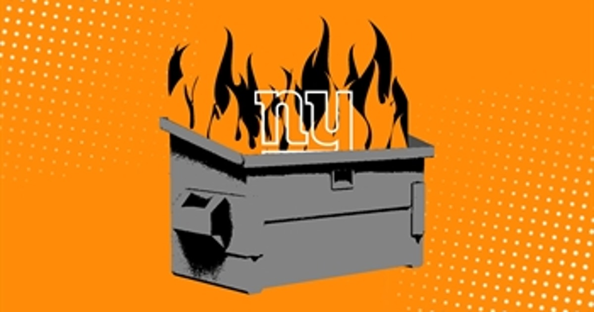 heres    york giants   biggest dumpster fire    nfl season fox sports