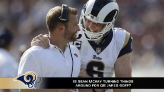 Jared Goff and Sean McVay appear to be the perfect fit