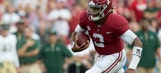 Jalen Hurts and the No. 1 Alabama Crimson Tide throttle the Colorado State Rams 41-23