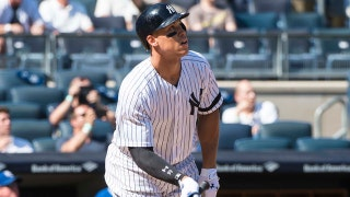 Watch Aaron Judge tie, then break Mark McGuire's rookie home run record