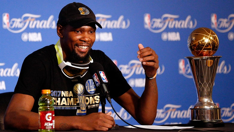 Nick Wright: KD tweet shows he still feels conflicted about his decision to leave OKC