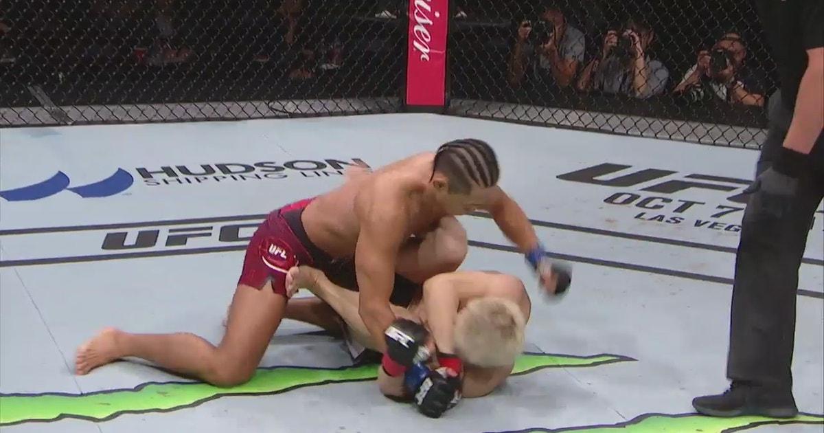Dong Hyun Kim TKOs Takanori Gomi   HIGHTLIGHTS   UFC FIGHT NIGHT (VIDEO)   FOX Sports