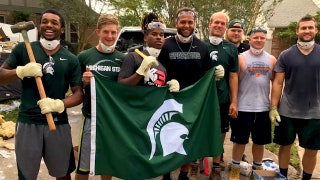Michigan State football comes to Houston's aid amid devastating Hurricane Harvey destruction