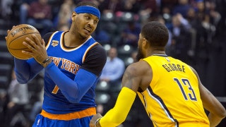 Melo makes the Thunder a threat to the Warriors?